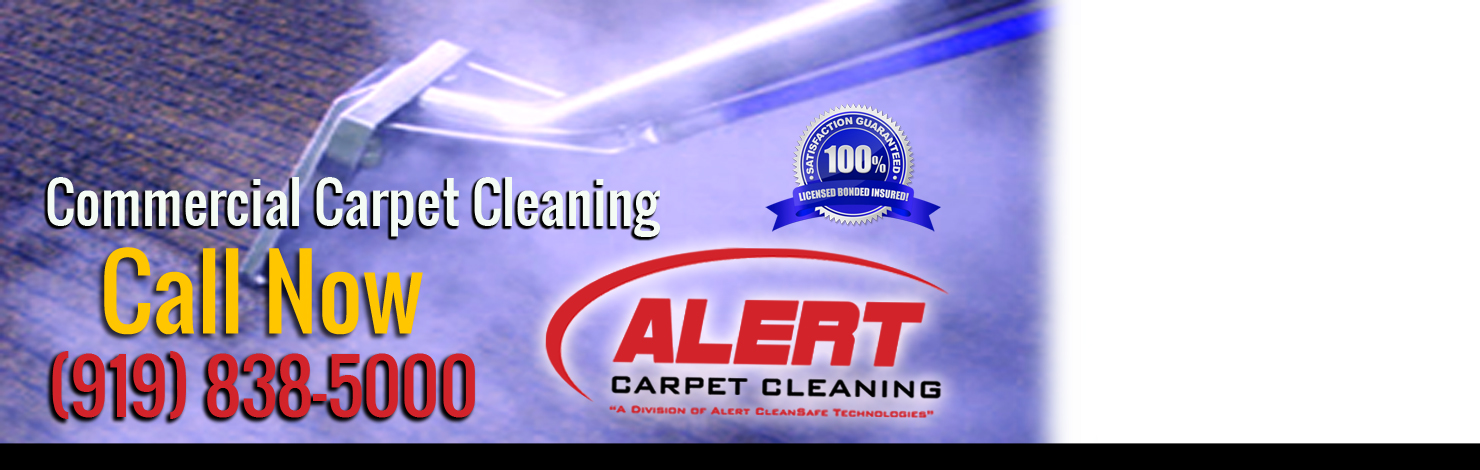 Alert Commercial Carpet Cleaning Company Raleigh NC