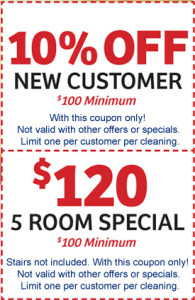 Free Printable Carpet Cleaning Coupons Specials Raleigh NC, Cary NC, Apex, Holly Springs