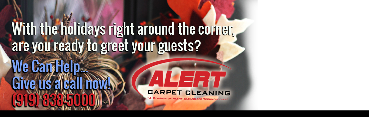 Holiday Carpet Cleaning Specials - Alert Carpet Cleaning Raleigh NC