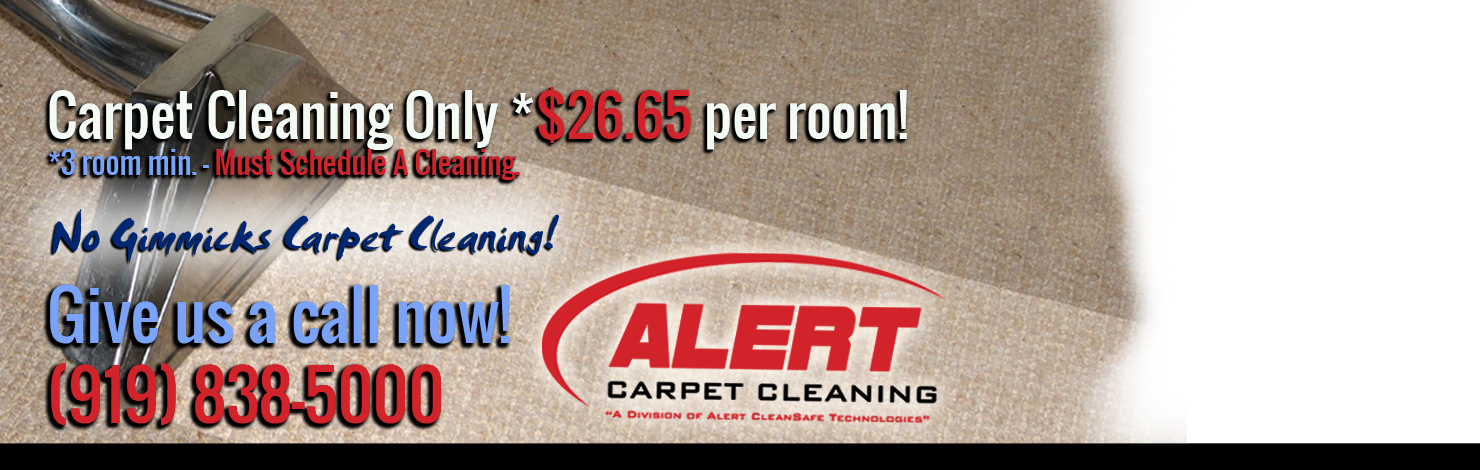 Carpet Cleaning Special $26.65-per-room
