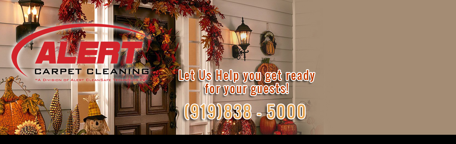 Fall Holiday Carpet Cleaning Special